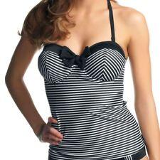 Freya Swimwear Tootsie Bandeau Tankini Top Black 3605