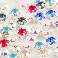 Genuine Swarovski Xirius Chaton MONTEES cristaux Prong Set Sew On Craft