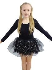 Crazy Chick Black Sequin Skirt Size S-XL Hen Party Fancy Dress Accessories