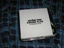 CD Indie Maximo Park Karaoke Plays 1T Promo WARP