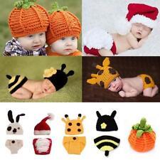 Newborn Baby Girl Boy Cartoon Crochet Knit Costume Photo Photography Prop  Outfit 4ac1a99a4123