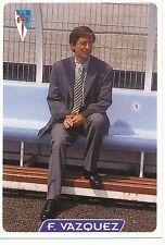N°272 FERNANDO VAZQUEZ # SD.COMPOSTELA OFFICIAL TRADING CARD MUDICROMO LIGA 1996