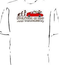 "Classic Corrado car ""Evolution of Man and Machine - Carwash"" t-shirt"