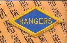 US Army Rangers Diamond WWII style #1 patch