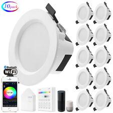 RGB/WW/CW 5in1 LED Spotlights Ceiling Panel Lamp Down Light WIFI/Bluetooth Mesh