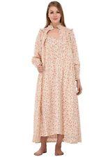 Wrinkle-Resistant Printed Nightdress/Housecoat Set | Cotton Lane