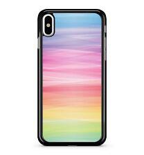 RAINBOW Vagues Multicolore prismatique fluorescent vif 2D étui de téléphone