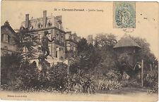 63 - cpa - CLERMONT FERRAND - Jardin Lecoq