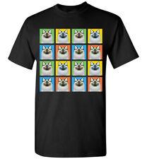 Birman Cat Cartoon Pop-Art T-Shirt Tee - Men Women's Youth Tank Short Long