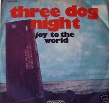 "7"" 1971 KULT VG++ ! THREE DOG NIGHT : Joy To The World"
