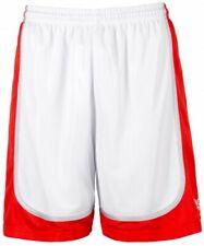 k1x Hardwood - League Uniform Basketball Shorts mk2 - weiß / rot / silber