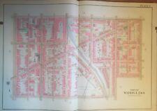 1913 READING PA ST. PETER'S, GEORGE LERCH & SPRUCE STREET SCHOOL COPY ATLAS MAP