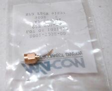 OSM SMA Straight Plug Connector to .085 Semirigid Hardline coax NOS