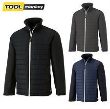 Dickies Loudon Jacket Softshell Padded Black / Grey / Navy Coat ** WAS £44.99 **