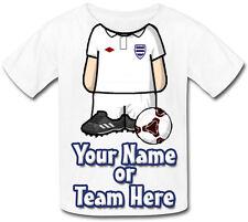 CALCIATORE / calcio / Personalizzata Bambino T-Shirt - Grande Regalo per Bambini & denominato troppo