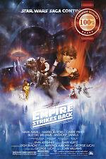 NEW STAR WARS THE EMPIRE STRIKES BACK EP 5 FILM ORIGINAL PRINT PREMIUM POSTER