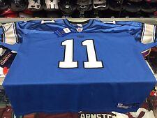 Detroit Lions Roy Williams NFL Reebok AUTHENTIC Blue Jersey