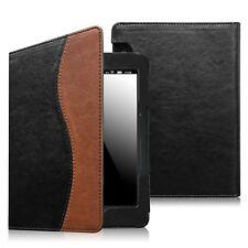 "2014 Kindle Voyage 6"" Slim Fit Premium PU Leather Case Cover Auto Sleep/Wake"