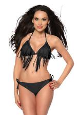 Costume Da Bagno Frange Tassel Bikini Vita Alta slim sling Swimwear Swimsuit L