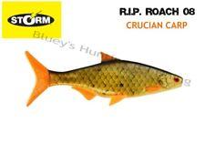 Storm soft plastic R.I.P Roach 08 21cm unrigged fishing Lure;Crucian Carp