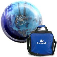 Bowling Ball & Bag Brunswick: TZone Arctic Blast 6-16 lbs & Bag Tzone Blue