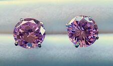 Cubic Zirconia Jewelry in Pastel Pink,-Earrings or  Pendant / 925 Sterling