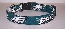 Wet Nose Designs Philadelphia Eagles Hand Made Dog Collar Football NFL
