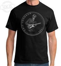 ERIC JOHNSON GUITAR HERO Cool Coin T shirt by V.K.G.