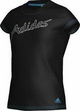 ADIDAS graphique lignée T-shirt o03142 T-shirt