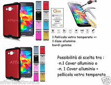 Custodia cover bumper ALLUMINIO per SAMSUNG galaxy grand neo Plus i9060i i9080