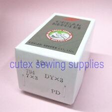100 Titanium 7X3 794 DYX3 Singer Class 7 Consew 744 Sewing Machine Needles