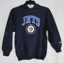 Winnipeg Jets NHL Youth Boys Kids Pullover Hoodie Reebok Face Off