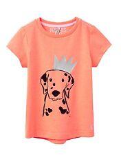 TOM JOULE T-Shirt Dalmatiner mit Krone orange 98 104 110 116 122 128 134 140