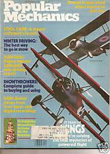 Popular Mechanics Dec 1978 - Audi 5000 - Snowthrowers - Winter Driving - Flight