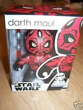 Star Wars Mighty Muggs Darth Maul Figure Lightsaber New