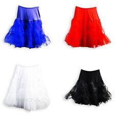 Ladies Vintage 50's Underskirt Petticoat Rockabilly Swing Tutu Skirt