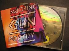 MACHINE GUN POETRY - ISLAND RECORDS SAMPLER - CD