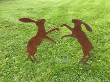 GARDEN SILHOUETTE ON SPIKE - NO DOG POOP, DUCK, HARE, FAIRY, CHICKEN,