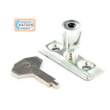 Staylock Casement Stay Window Security Lock Zinc Plated Brass EB ZP