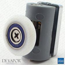 Di Vapor (R) Girevole Fisso Rullo Doccia 5mm a 6 mm Vetro 24mm/25mm/26mm