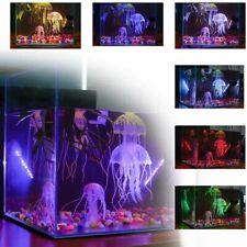 Aquarium Jellyfish Decoration Glowing Luminous Effect Fish Tank Artificial Decor