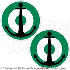 NIGERIA Marine Luftwaffe NIGERIANISCHEN Roundel MOD 50mm Sticker Aufkleber x4