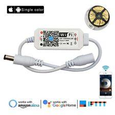 Magic Home DC5V 12V 24V Single Color 5050 3528 LED Strip Lights WiFi Controller