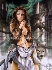 Calandra Fantasy Art - Rhiannon!  Signed 11x14 Print!