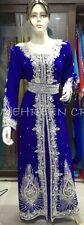 MAGHRIBI DUBAI ABAYA JALABIYA JILBAB ISLAMIC ARABIAN WOMEN CLOTHING EDH  5115