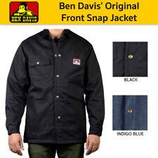 Ben David Men's Original Heavy Duty Twill Shell Snap Front Jacket