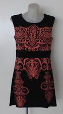 Ladies TUNIC TOP Blouse dress Sleeveless PLUS size 10 12 14 16 18 20 EVERSUN