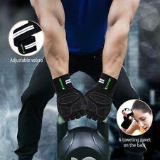 Men Women Weight Lifting Gloves Bodybuilding Fitness Wrist Wrap Gym Training