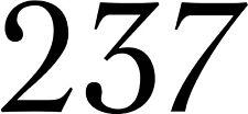 Room 237 VINYL DECAL The Shining - horror - Stephen King - bumper sticker - car