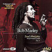 Soul Almighty: The Formative Years Vol. 1 by Bob Marley (CD, Jun-2001, JAD...